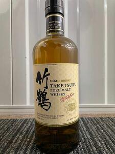 【値下げ中】竹鶴 ノンエイジ  NIKKA ニッカ 竹鶴 余市 宮城峡 ピュアモルトウイスキー シングルモルトウイスキー