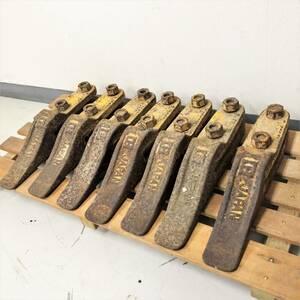 バケット/つめ/爪/ユンボ/パーツ/ツール/工具/アタッチメント/7本/セット/建設機械/機械