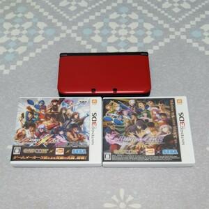 3DSLL 本体 3DSソフト プロジェクトクロスゾーン 1 .2 セット 任天堂
