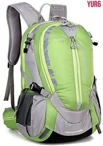 登山リュック 軽量 大容量 防撥水 リュックサック アウトドアバッグ 旅行 ハイキング クライミング バックパック  グリーン