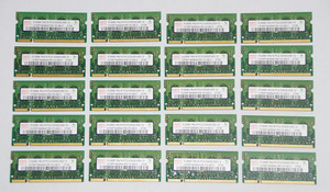 * DDR2 SO-DIMM 512MB × 20 sheets Note PC for memory hinix PC2-5300S-555-12 hp. seal one side implementation operation verification settled *