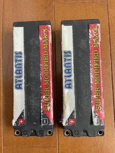 リポバッテリー ラジコン LiPoバッテリー 2本セット 値下げしました