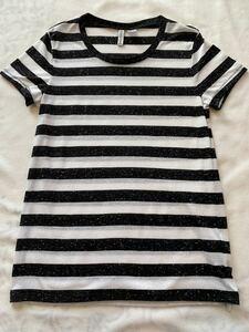 H&M ボーダー Tシャツ S