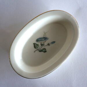 【管理A2】即決価格 小皿 器 朝顔 花図 1964年 デンマーク製 ロイヤルコペンハーゲン