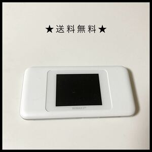 ★おすすめ★動作確認済み Speed Wi-Fi NEXT W06 UQ WiMAX版 WHITE ポケットWi-Fi