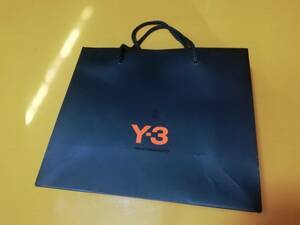 Y-3 ワイスリー/ヨウジヤマモト アディダス /adidas ショッパー ギフト包装 ショップ袋 手提げ袋 紙袋 YOHJI YAMAMOTO