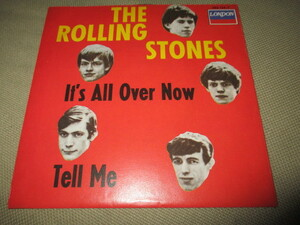 rolling stones / it's all over now (ドイツ盤送料込み!!)