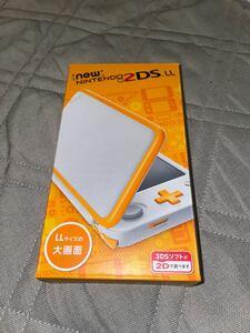 新品未使用 ニンテンドー2DSLL Nintendo ホワイト&オレンジ