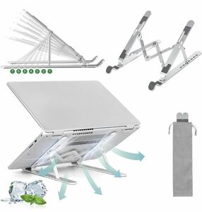 ノートパソコンスタンド パソコンスタンド PCスタンド 改良 タブレットスタンド 折りたたみ式