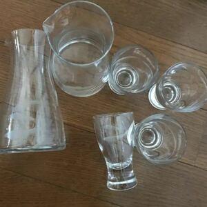 ガラス製品6点セット/美品 ガラスコップ
