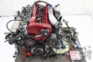 2100054301 RB26DETT エンジンAssy HKS Vカム T517Z 付き スカイライン GT-R BNR32 前期 トラスト企画 送料無料 U