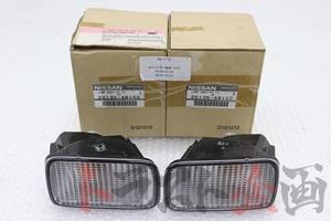 1200017103 未使用品 後期 純正 クリアウインカー 左右セット スカイラインGT-R BNR34 後期 トラスト企画 送料無料 U