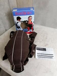 KF080834 BABYBJORN/ベビービョルン ベビーキャリア アクティブ ブラウン 外箱付属 抱っこ紐 ベビー用品 直接引取り