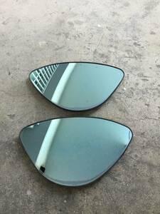 * Subaru R2 original option blue mirror lens / rare