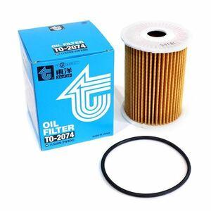 TO-3240 フリード スパイク FREED SPIKE DBA-GB4 東洋エレメント オイルフィルター ホンダ 15400-RTA-004 オイルエレメント エンジン