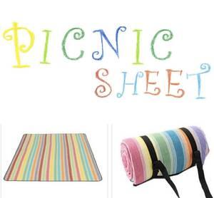 選べるカラー 超大判 厚手 ふかふか ピクニックマット レジャーシート マット 防水 丸洗い 200×150