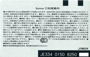 Suica【デポジットのみ】東京駅開業100周年記念(折れ無し専用台紙付)