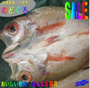 はんなま製品、超高級魚「のどぐろ開き1kg」めちゃくちゃ脂のってます。