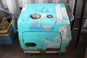 ●RYOBI リョービ EWG-324DX エンジンウェルダー アーク溶接機 発電機 電動工具【直接引き渡し】【20264631】