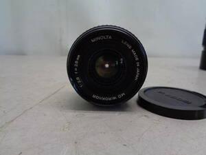 MK2912 MINOLTA ミノルタ MD W.ROKKOR カメラレンズ 1:2.8 f=28mm