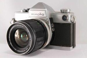 ★実用美品★ミノルタ MINOLTA MC W.ROKKOR SI 28mm F2.5 おまけボディ付★動作OK 希少★73980
