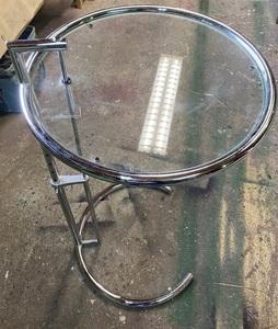 ADJUSTABLE TABLE E1027 アジャスタブルテーブルE1027 クラッシック サイドテーブル 高さ調節可能