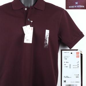 《郵送無料》■Ijinko◆新品☆Uniqloユニクロドライカノコ M サイズ半袖ポロシャツ