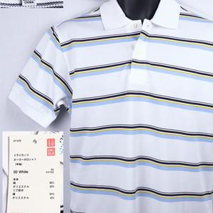 《郵送無料》■Ijinko◆Uniqloユニクロドライ M サイズ半袖ポロシャツ
