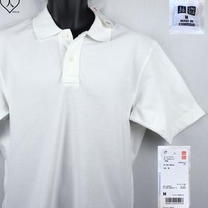 《郵送無料》■Ijinko◆新品☆Uniqloユニクロ オーバーサイズカノコ M サイズ半袖ポロシャツ
