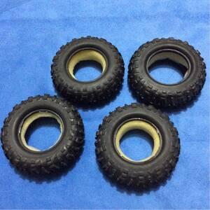 送料無料 希少? LOSI MRC タイヤのみ4個 クローラー ロッシ マイクロロッククローラー トレイルトレッカー ①