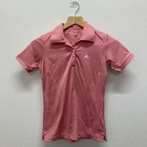 使用感有 アディダス adidas ゴルフ ポロシャツ 半袖 レディース サイズXS ピンク