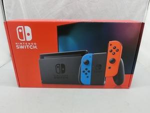 ニンテンドー Nintendo Nintendo Switch 2019年発売モデル ネオンブルー/ネオンレッド HAD-S-KABAA