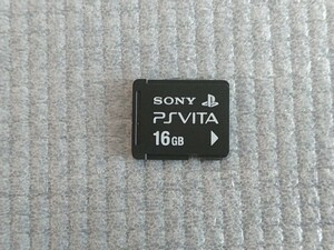 メモリーカード PS Vita16GB ほぼ 未使用 美品   × 新品