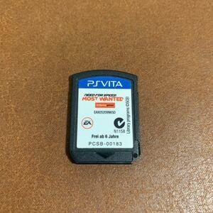 PS Vita ソフト ニードフォースピードモストウォンテッド most wanted 海外英語版