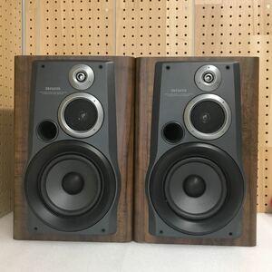 GJ8789 aiwa アイワ スピーカー システム ペア SX-NH6 中古 音出し確認 インピーダンス6Ω オーディオ 機器 現状品 ネット欠品 0802