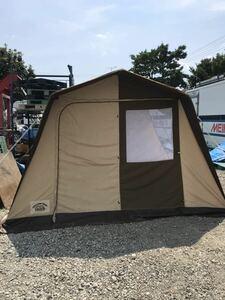 直接引取可 EXCITING SHOP PRO STAFF S.R.C. OUTDOOR LIFE ルームハウス テント テントサイズ:全長約3.5m 幅約3m 高さ約2m