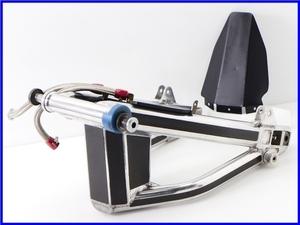 ★ 《W3》良品♪ZRX1100 OVER Racing スイングアームset♪オイルキャッチタンク内蔵♪インナーリアフェンダー付♪