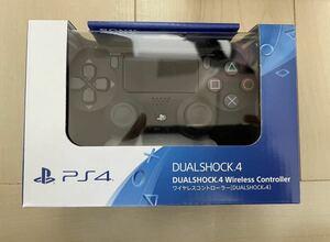 新品未開封 PS4 純正 ワイヤレスコントローラー CUH-ZCT2Jジェットブラック