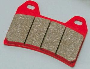 フォルツァZ ブレーキパッド リヤ 赤パッド デイトナ 79849 フォルツァZ 年式:2004-2007