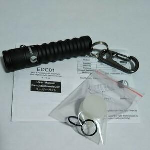 懐中電灯 ハンディライト ライト キャンプ ルミントップ Lumintop EDC01 Black 未使用品