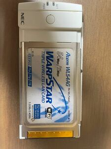 NEC トリプルワイヤレスカード PA-WL/54AG