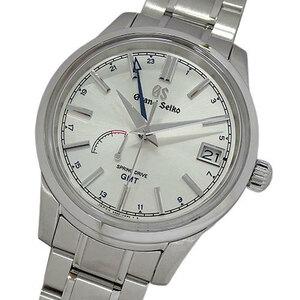 グランドセイコー GRAND SEIKO 時計 GS 9R66-0AL0 SBGE225 メカニカル スプリングドライブ GMT 自動巻き AT メンズ 磨き済み