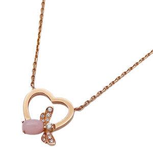 ショーメ CHAUMET ジュエリー ネックレス アトラップ モワ ピンクオパール ダイヤモンド 750PG ピンクゴールド