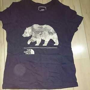 THE NORTH FACE ノースフェイス Tシャツ プリントTシャツ 子供用 XXSサイズ 熊 BEAR