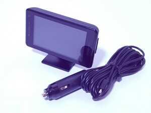 美品 全額返金保証付 ユピテル レーダー探知機 GWR303sd GPSデータ13万6千件以上 GPS/一体型/フルマップ表示/静電式タッチパネル