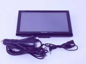 美品 全額返金保証付 パナソニック デカゴリラ大画面7v型ワイドVGAワンセグ16GBSSDポータブルカーナビゲーション CN-GP730D