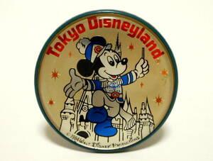 東京ディズニーランド ミッキーマウス バッジ バッチ ピンバッジ ピンズ 当時物 レトロ TDL Tokyo Disneyland Mickey Mouse