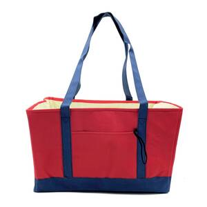 Luce Luce マイバッグ 保冷バッグ エコバッグ トートバッグ 保冷 保温 買い物バッグ ショッピングバッグ 折りたたみ 大容量 キャンプ 赤地