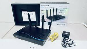ブランド:NETGEAR(ネットギア) ハイエンド高速Wi-Fiルーター 無線LAN親機 11ac トライバンド合計5,300Mbps 4K動画 R8500-100JPS