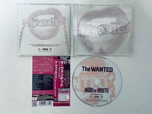 The Wanted(ザ・ウォンテッド) Word of Mouth(ワードオブマウス)(国内盤)CD、日本版ボーナス・トラック収録、2013/11/6 限定版
